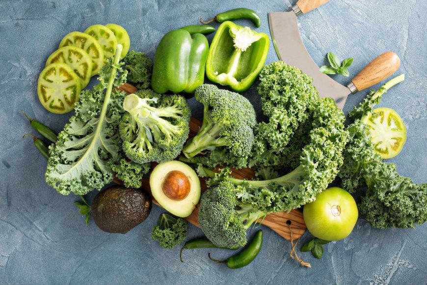 Žalios daržovės