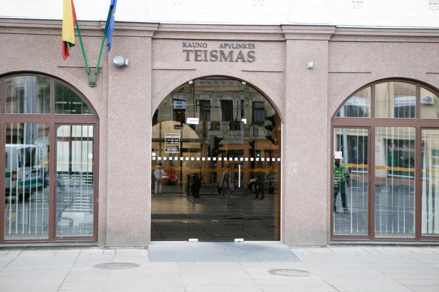 Evakuotas teismo pastatas Kaune