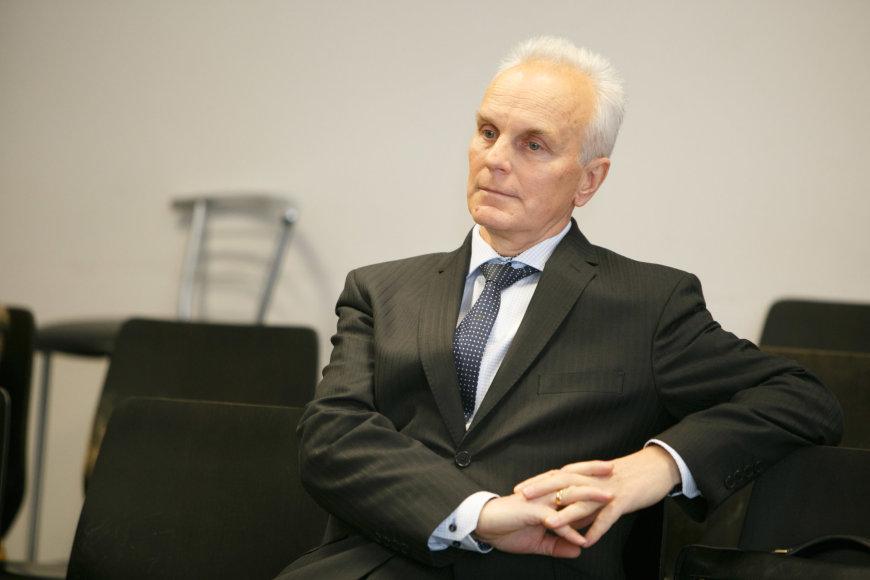 Bronislovas Burgis teisme