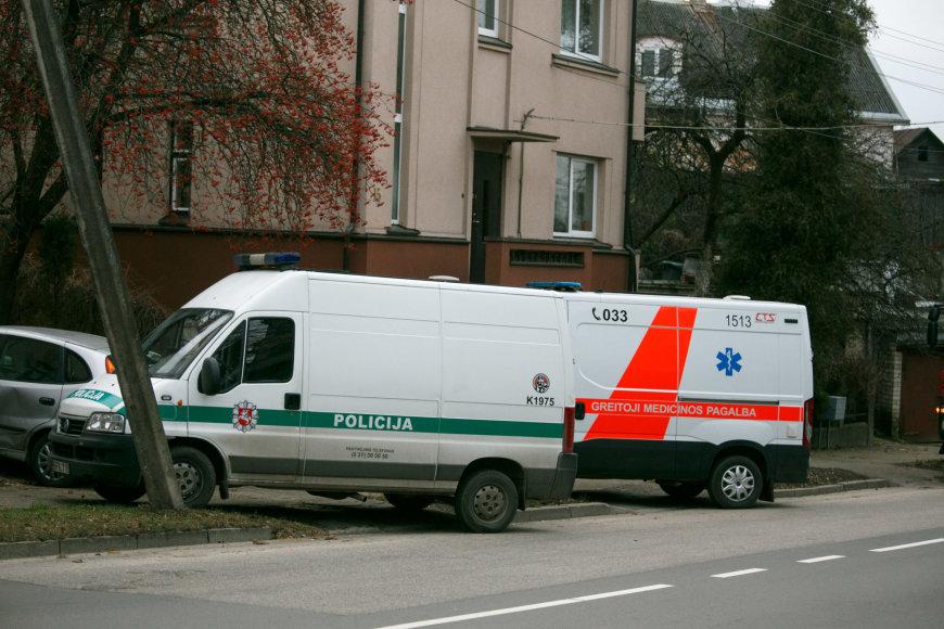 P.Kalpoko gatvėje esančiame name rastas sprogmuo