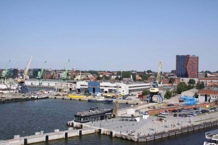 Vaizdas iš kruizinio laivo