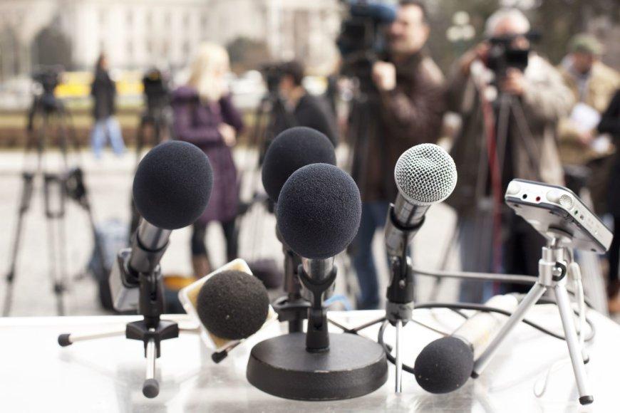 Žurnalistų darbas įdomus, bet nenuspėjamas