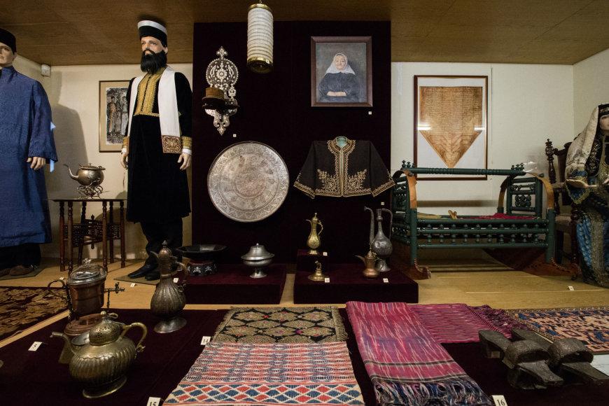 Serajos Šapšalo karaimų tautos muziejaus eksponatai