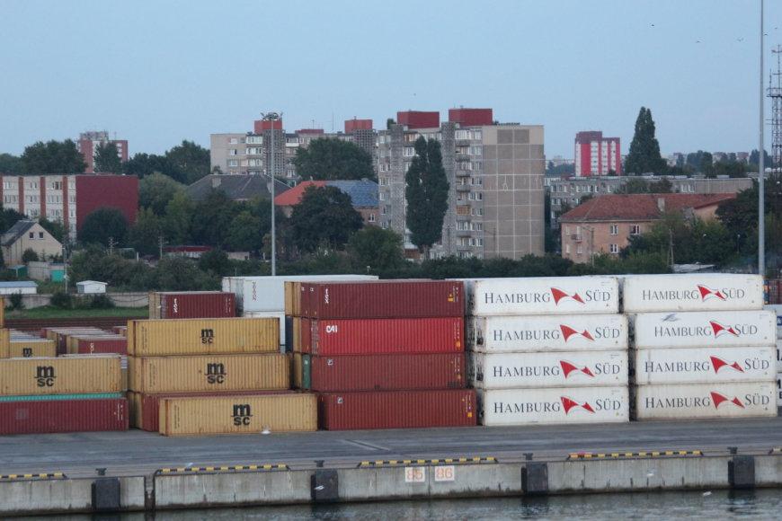Krovinių Klaipėdos uoste daugėja.