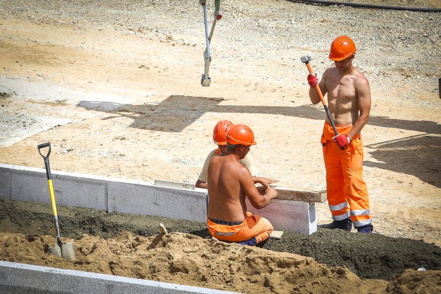 Vilniaus vakarinio aplinkkelio statybos vyksta laikantis plano