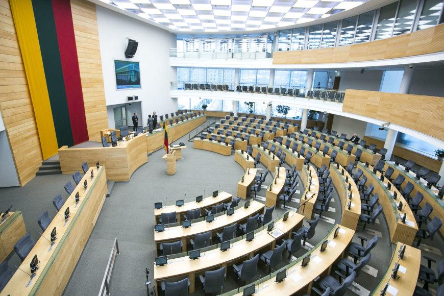 Šios kadencijos Seimas rinkosi į paskutinį rytinį posėdį