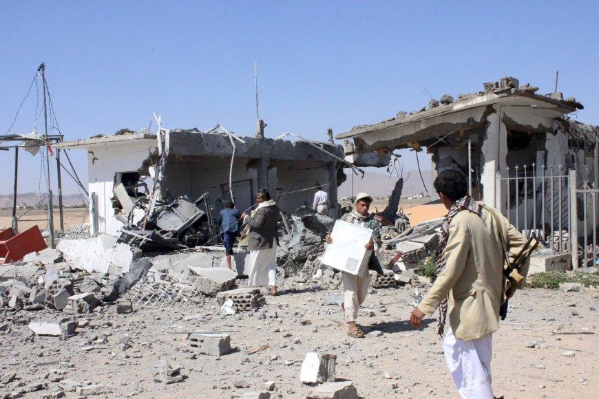 Oro atakos padariniai Jemene