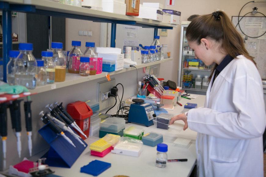 Vilniaus universiteto Biotechnologijos instituto profesoriaus Virginijaus Šikšnio laboratorija