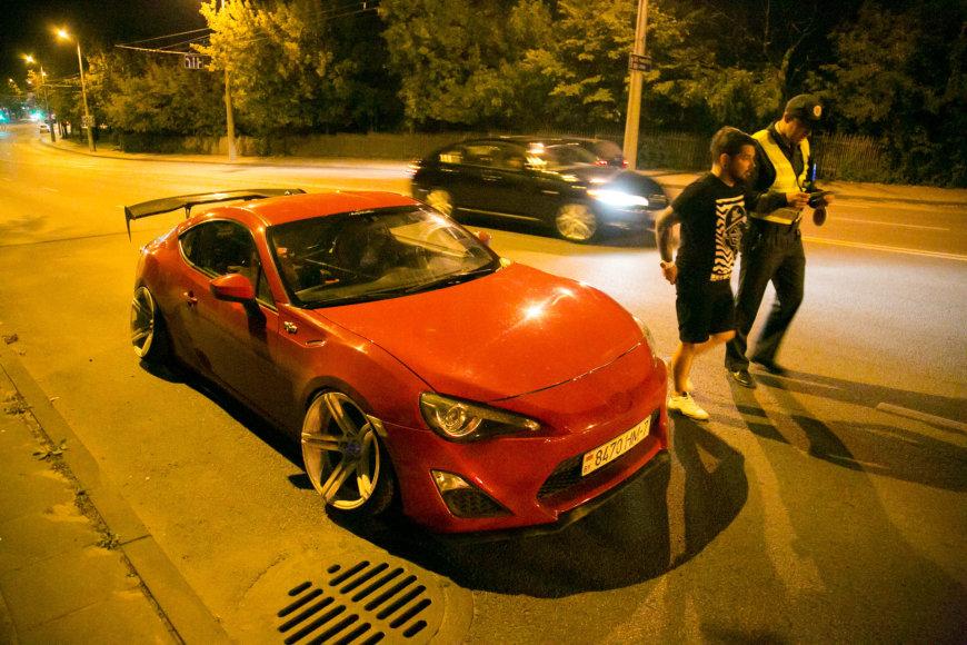 Rugsėjo 3-osios naktinis Vilniaus policijos reidas