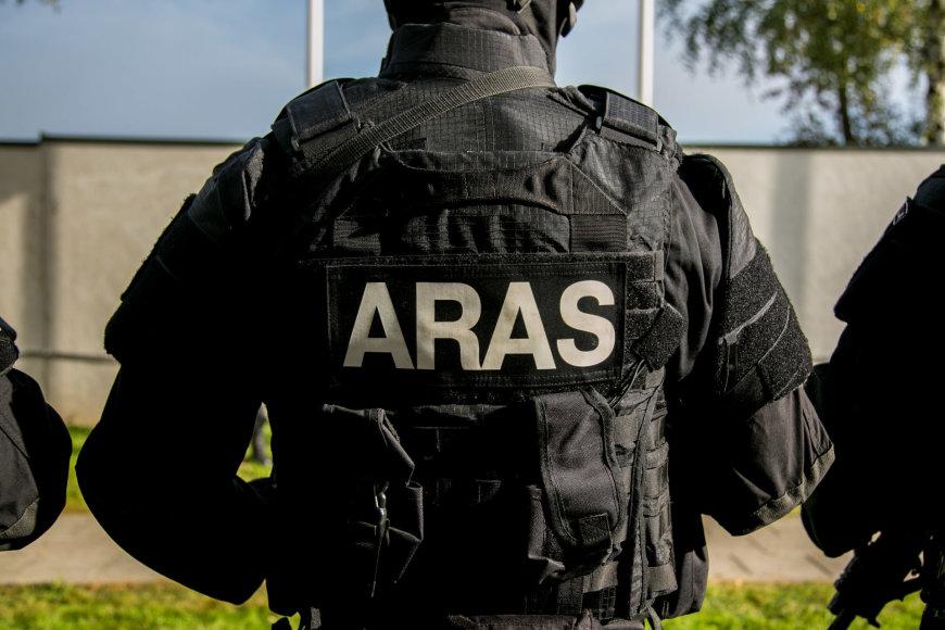 """Antiteroristinių operacijų rinktinės """"Aras"""" moderni būstinė"""