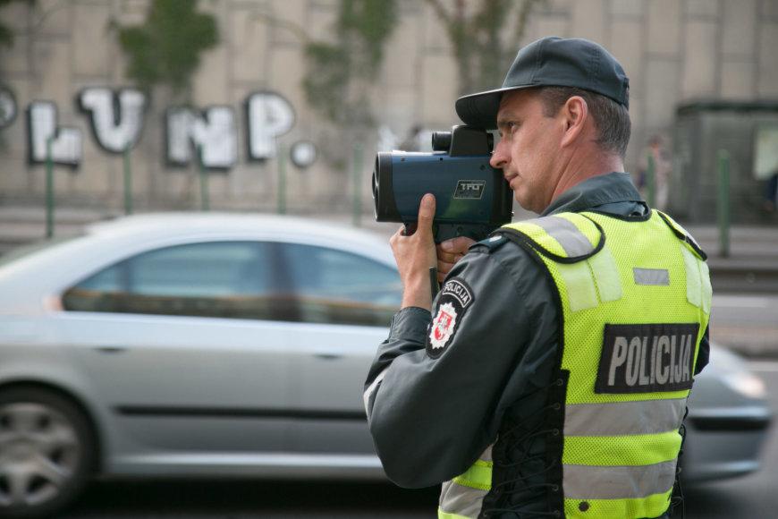 Lietuvos kelių policijos tarnybos reidas Vilniuje rugsėjo 16 d.