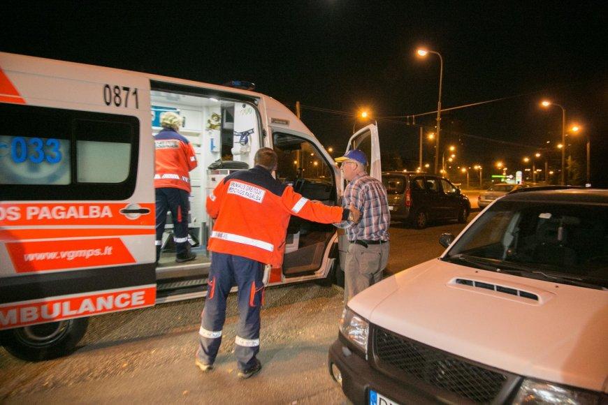Rugsėjo 16 d. vakaro policijos reidas Vilniuje