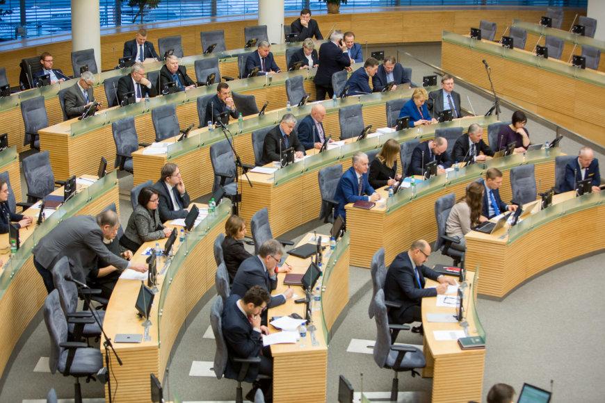 Seime - antrasis biudžeto skaitymas