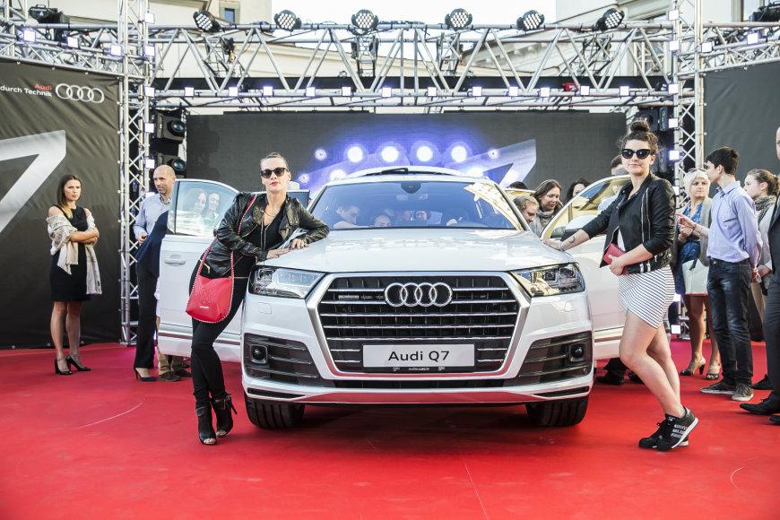 Audi Q7 pristatymas
