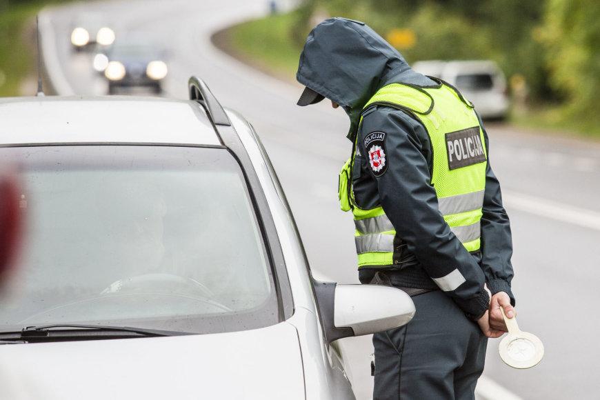 Trečiadienio rytinis policijos reidas