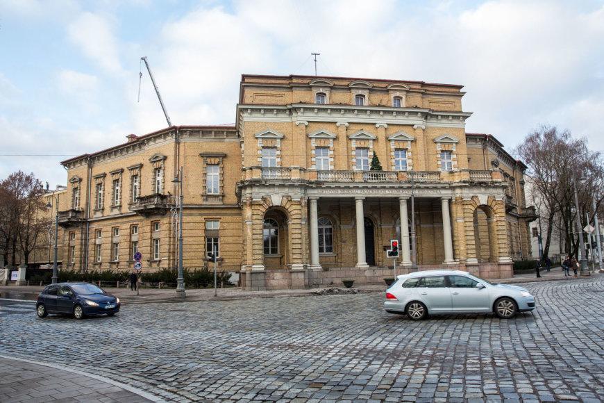 Rekonstruojama Lietuvos mokslų akademijos Vrublevskių biblioteka