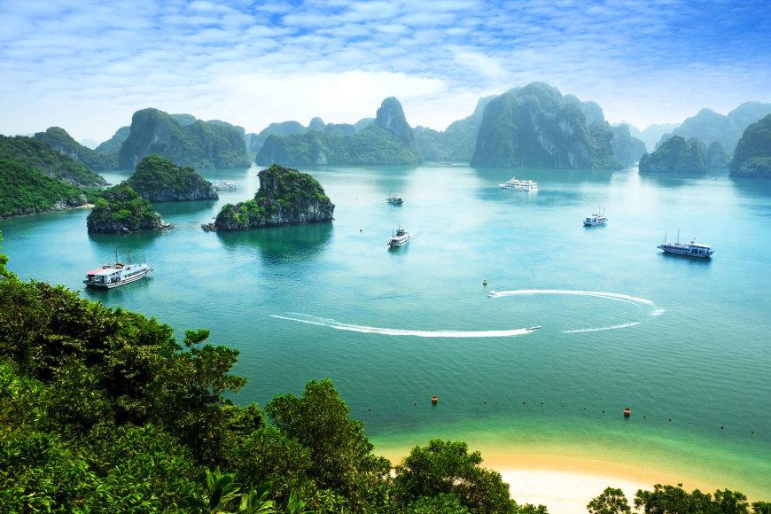 Egzotiški Vietnamo kontrastai: nuo tūkstančių ryžių skonių, krioklių iki paplūdimio idilės