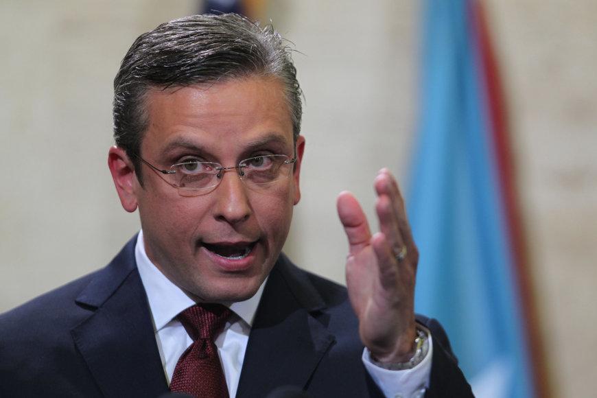 Puerto Riko gubernatorius Alejandro Garcia Padilla