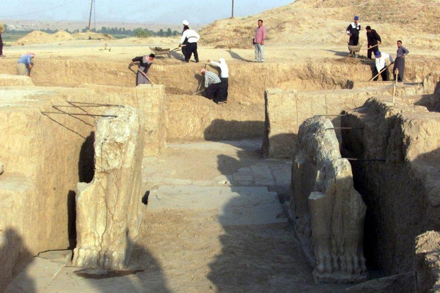 Istorinis Nimrudo miestas