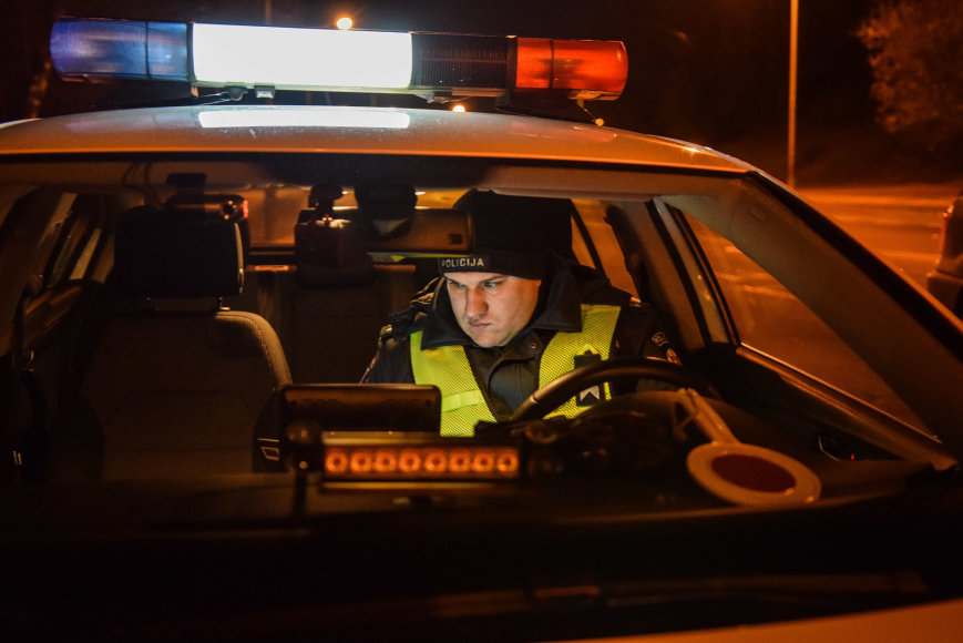 Penktadienio LKTP ir Vilniaus policijos jungtinis reidas