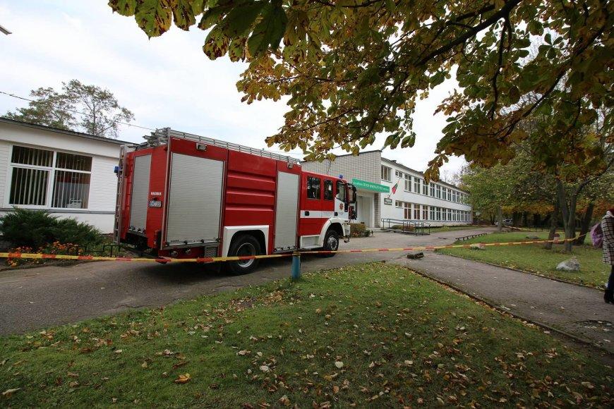 Anonimas pranešė apie galimą sprogmenį Klaipėdos mokykloje