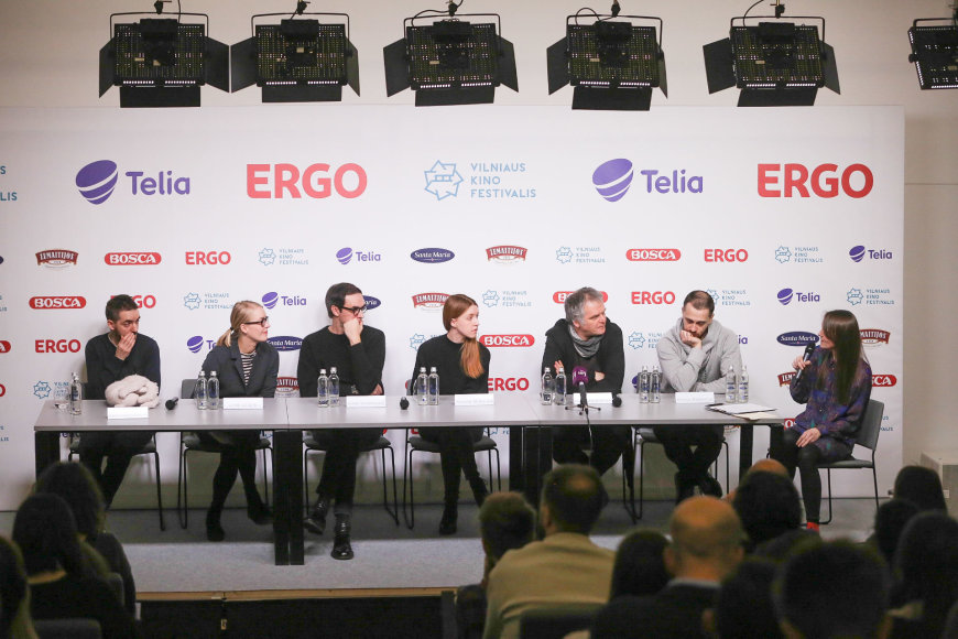 """""""Kino pavasario""""  lietuvių filmų programos spaudos konferencija"""