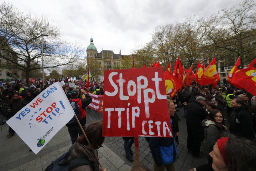 Protestas Hanoveryje