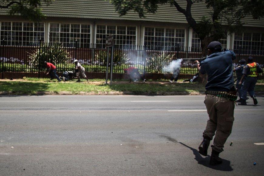 Protestai Kongo Demokratinėje Respublikoje