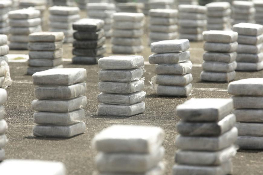 Per operaciją konfiskuota 2,4 tonos kokaino