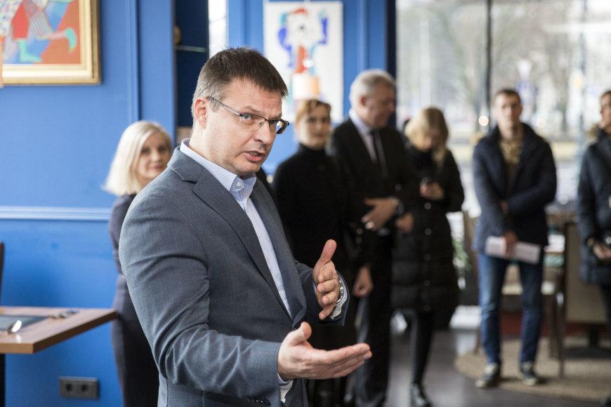 """""""Vilniaus viešojo transporto"""" generalinis direktorius Gintaras Maželis"""