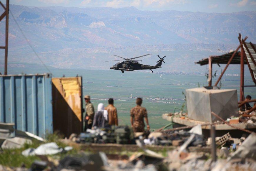 Sirija krečia turkų oro smūgiai.