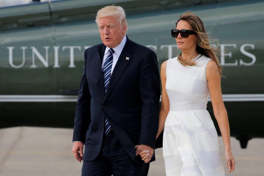 Donaldas Trumpas vyksta į Vatikaną