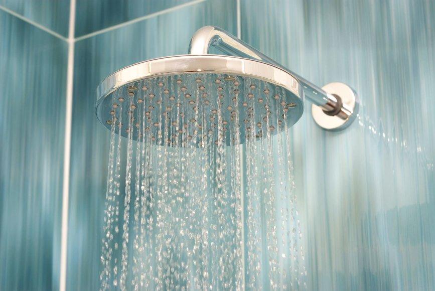 Šią savaitę poilsiautojų Druskininkuose laukė šaltas dušas