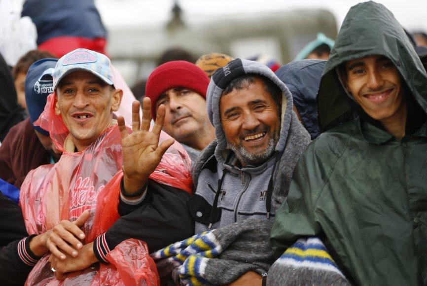Migrantai Austrijoje
