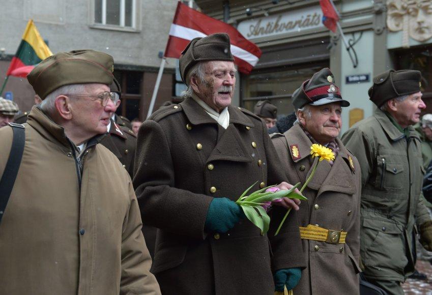 Latvijoje kasmet vyksta Antrojo pasaulinio karo kovų minėjimas.