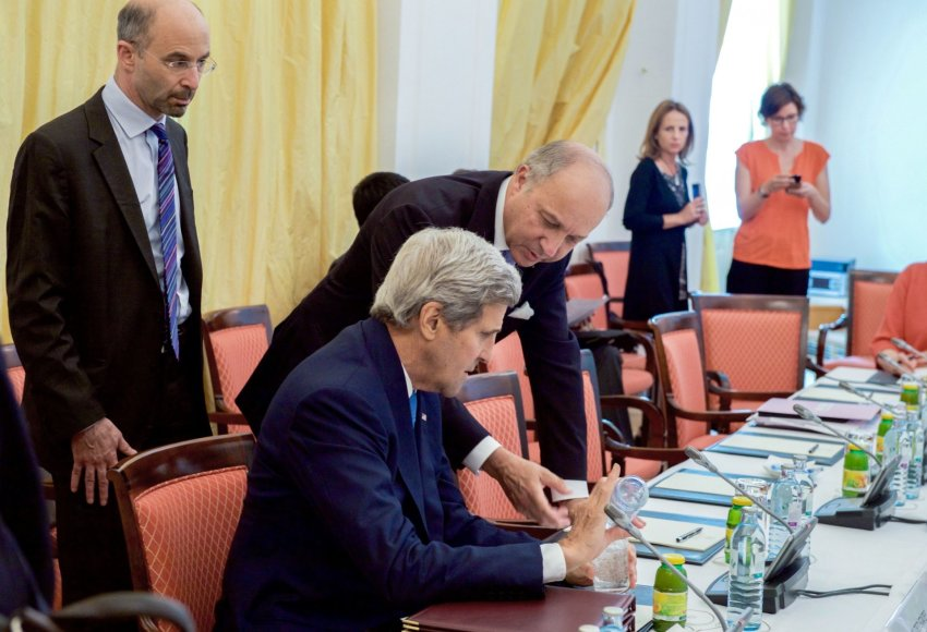 Johnas Kerry derybose Vienoje