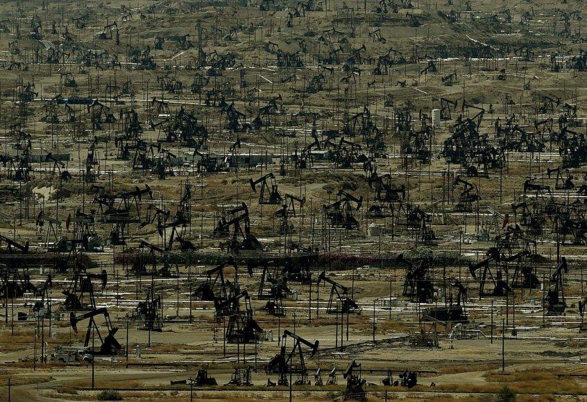 Naftos gavyba Kalifornijoje