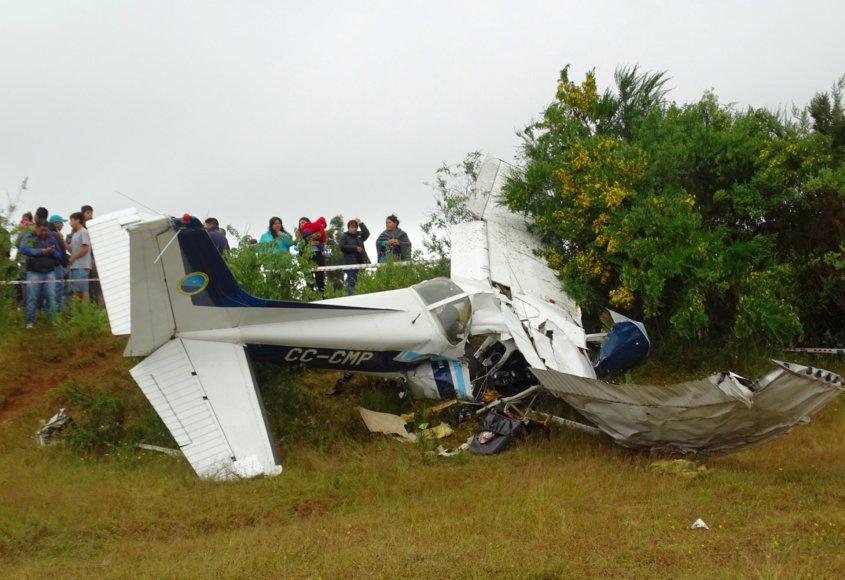 Lengvojo lėktuvo avarija Čilėje