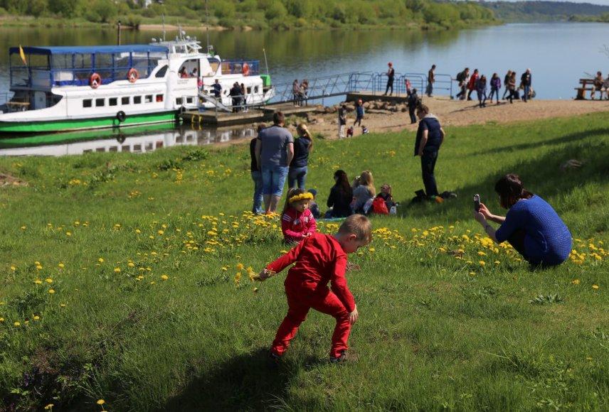 Į Zapyškį, kuriame šeštadienį bus paskelbtas Kauno rajono turizmo sezono startas, iš Kauno galima atplaukti laivu