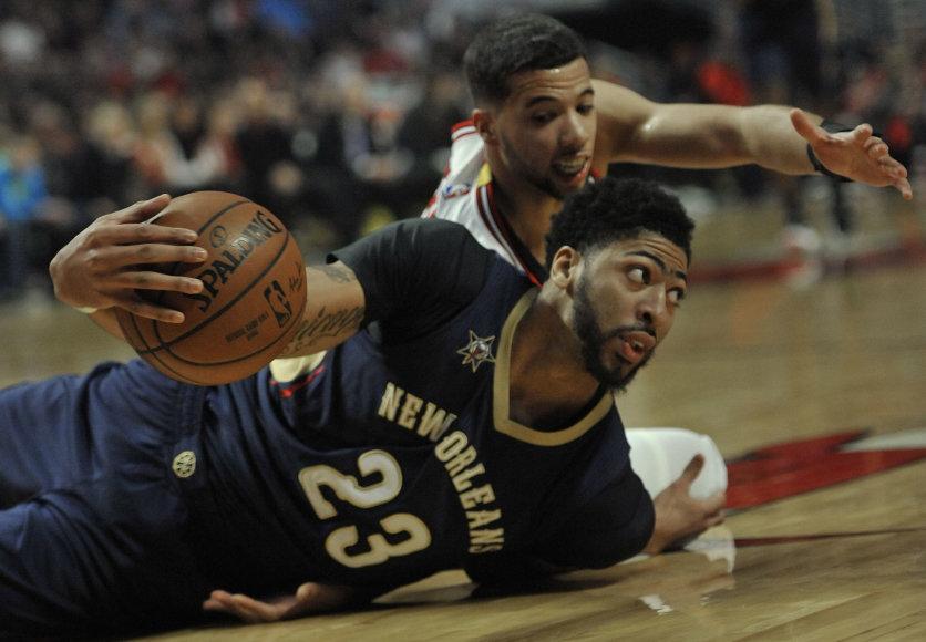 "NBA rungtynės: ""Bulls"" – ""Pelicans"""
