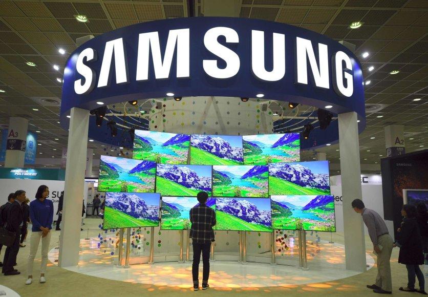 """""""Samsung"""" stendas parodoje Seule"""
