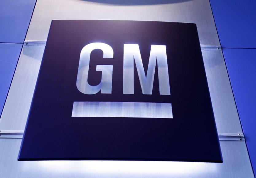 """""""General Motors"""" logotipas"""