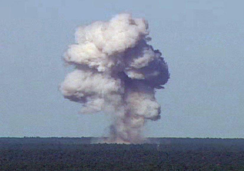 """""""Reuters""""/""""Scanpix"""" nuotr./JAV numesta didžiulė bomba Afganistane užmušė dešimtis IS džihadistų"""