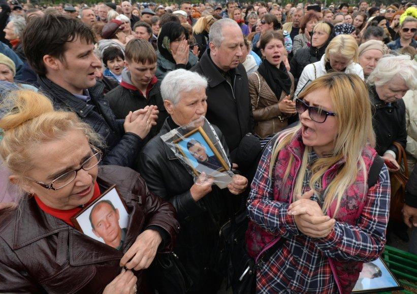 Tragedijos minėjimas Odesoje.