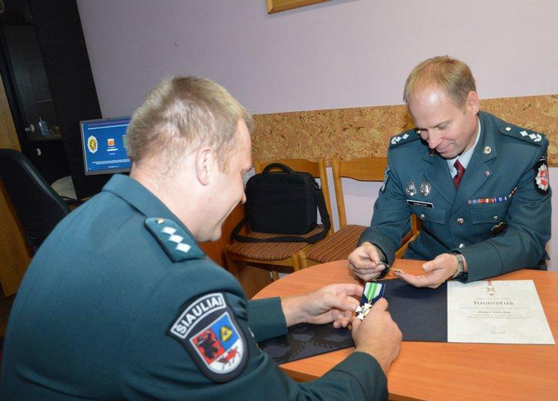Šiaulių pareigūnai