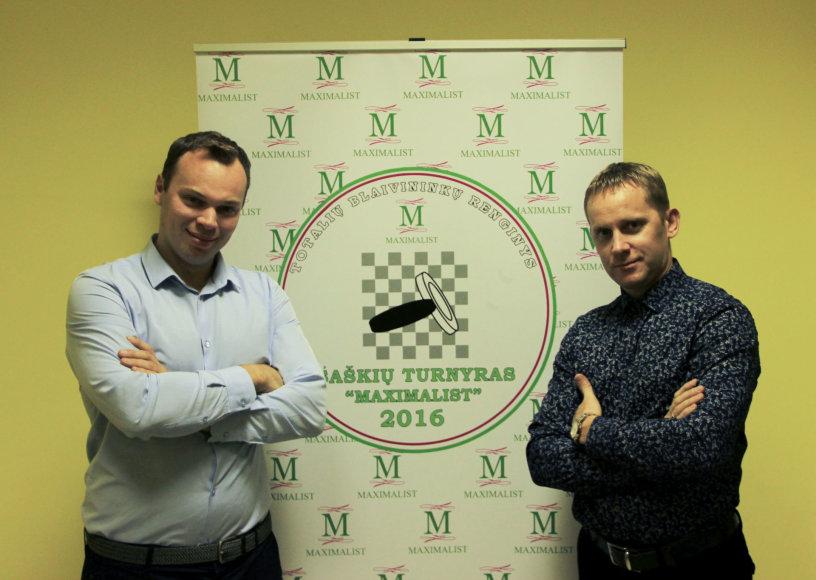 """""""Maksimalistų klubo"""" šaškių turnyras"""