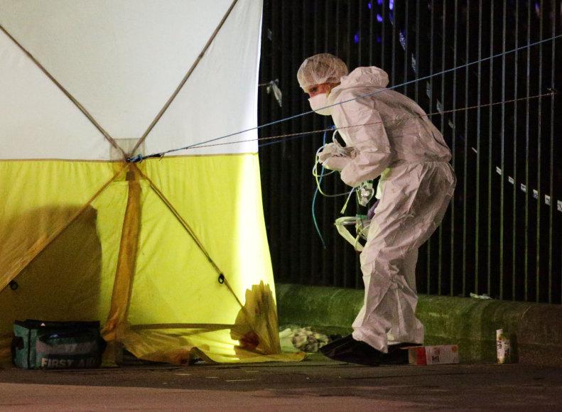 Per išpuolį Londone nužudyta moteris