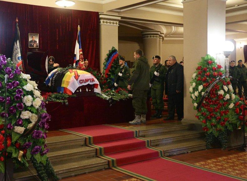 Donecke atsisveikinta su A.Pavlovu