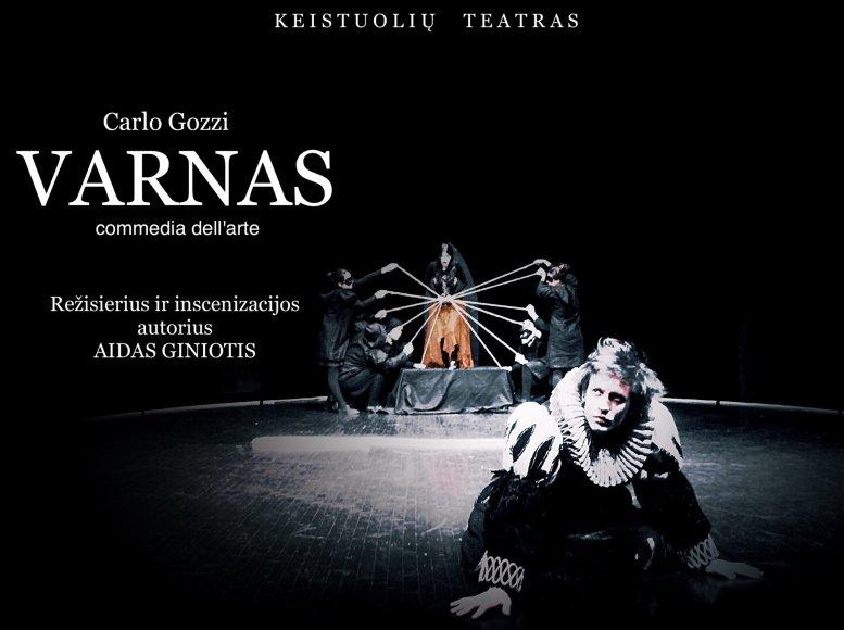 """Spektaklis """"Varnas"""""""