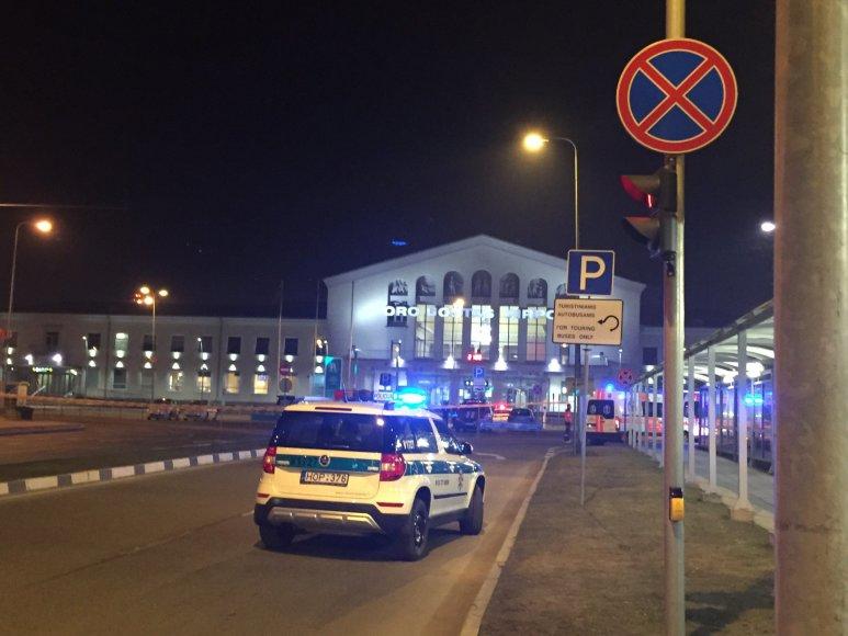 Po pranešimo apie sprogmenį evakuotas Vilniaus oro uostas 2015 m. kovo 19 d.